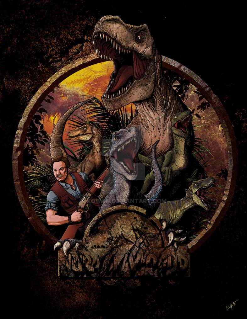 Jurassic Squad by kowan