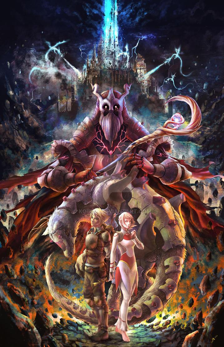Fantasy Illustration by kowan