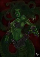 Medusa by Dragerdeifrit