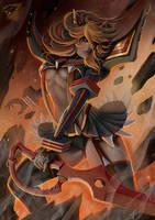 Ryuko Matoi by Dragerdeifrit
