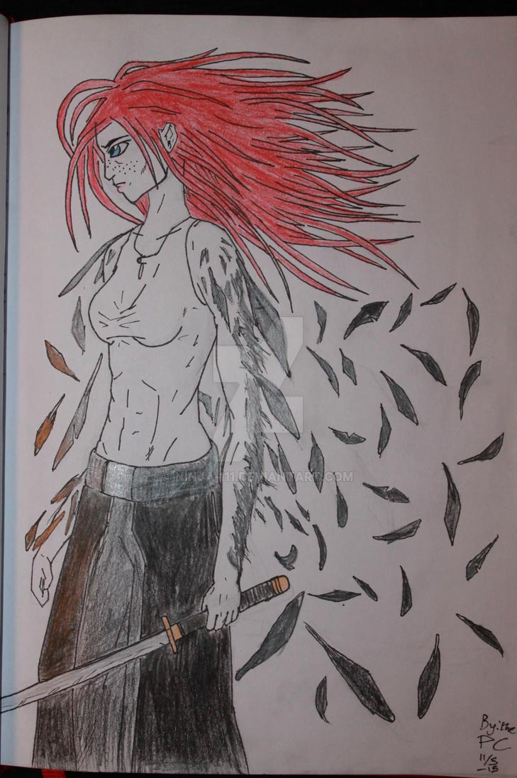 Ravenfeather - Roisin Ravenfeather by ninja-111
