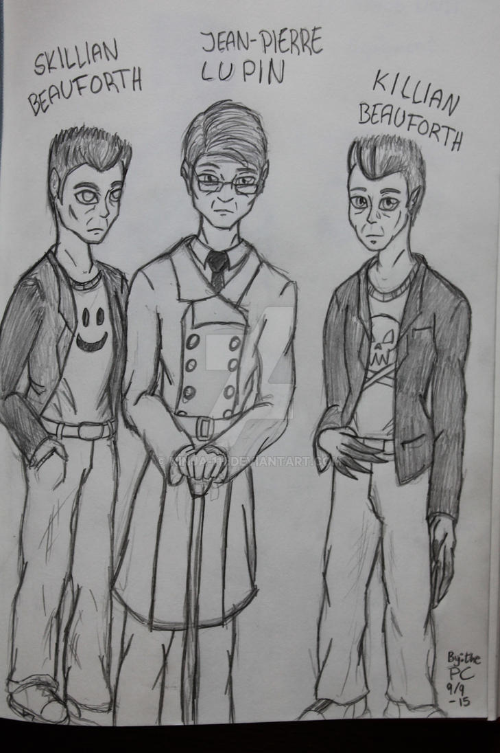 The Boys of Ravenfeather by ninja-111