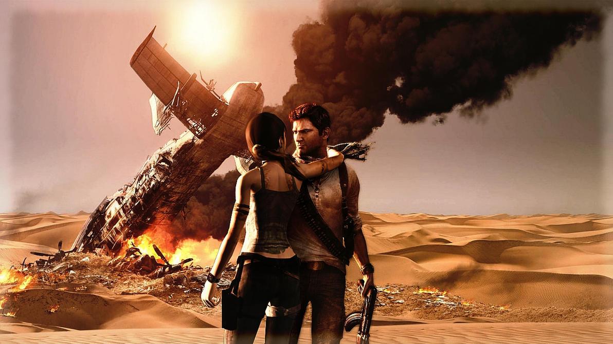 Tomb Raider Uncharted 2 By Oxxxxxashxxxxxo