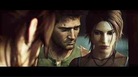 Tomb Raider Uncharted 7 by oxxxxxashxxxxxo