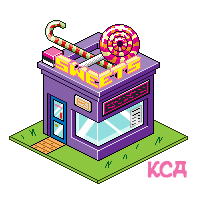 Isometric Sweet Shop by Kitty-Cat-Angel