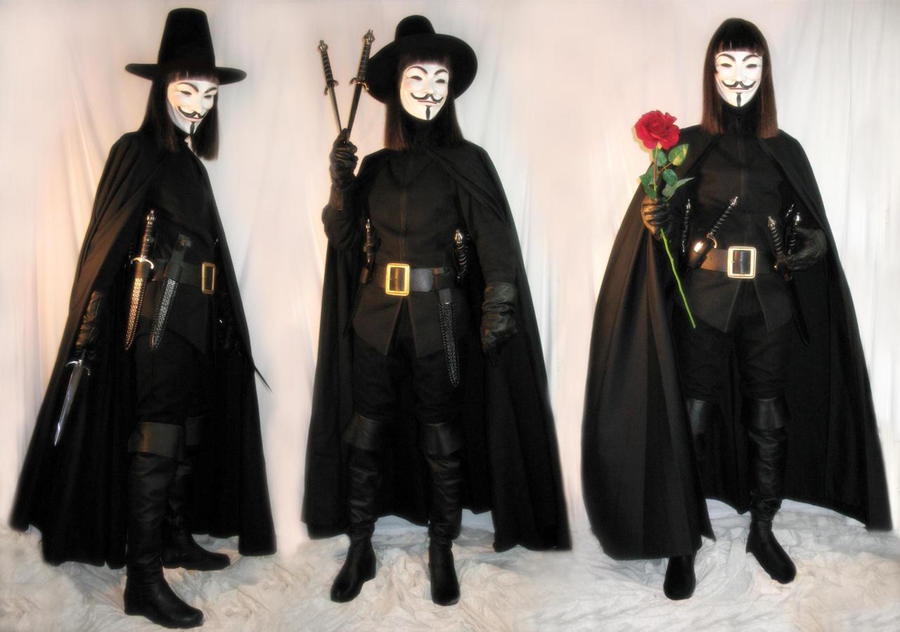 v for vendetta full costume by williamshade on deviantart