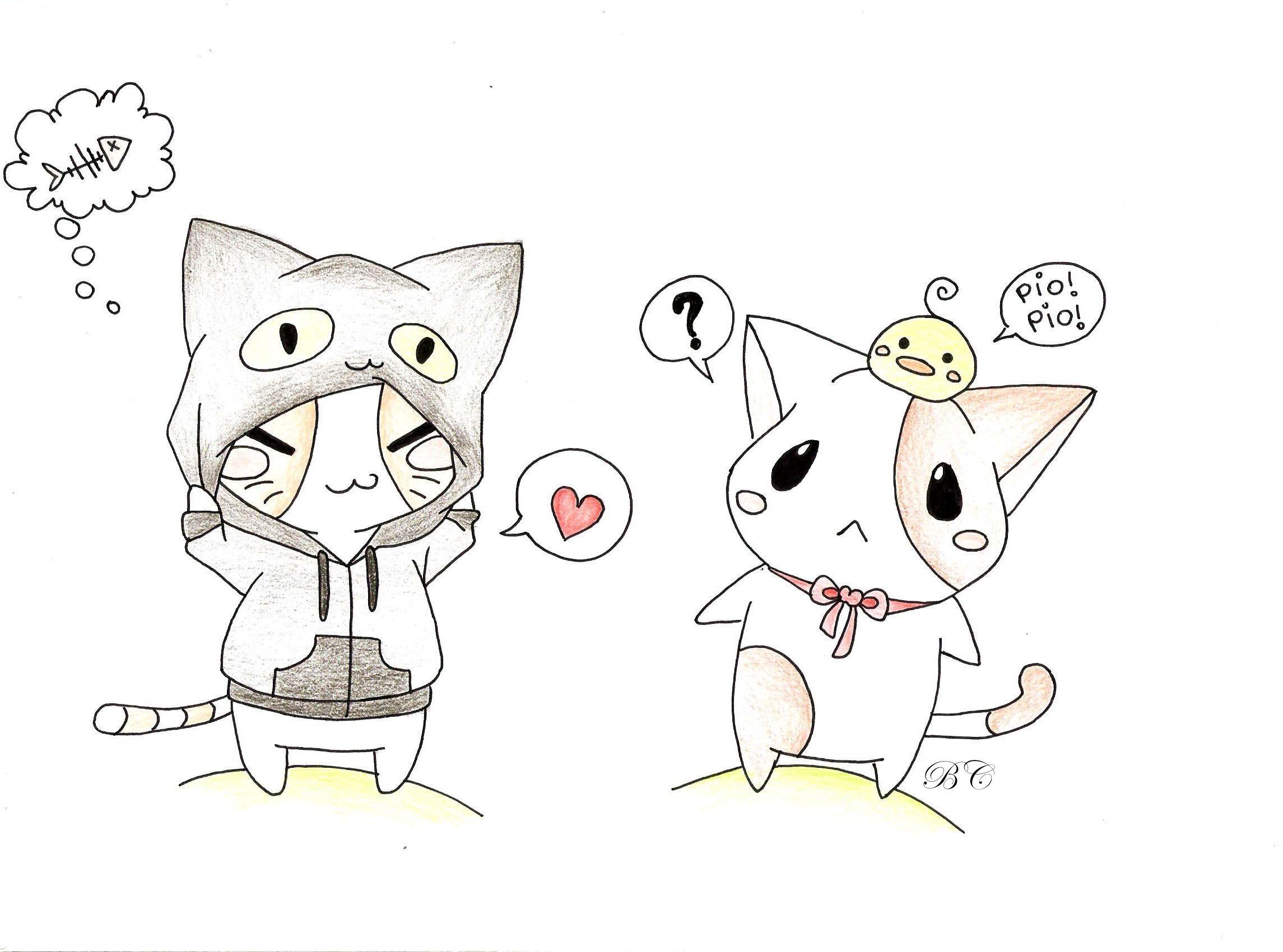 Chibi Collection - Page 6 Chibi_neko_by_bea_chan_96-d8gny0n