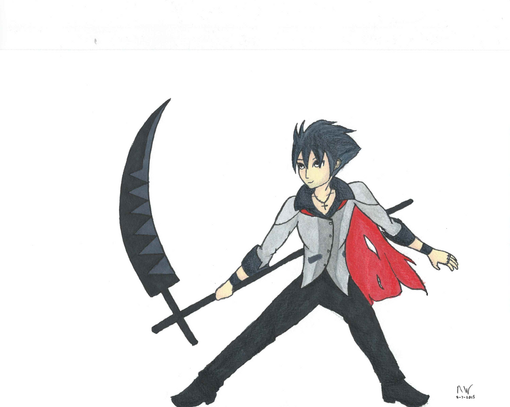 anime guy with scythe wwwimgkidcom the image kid has it