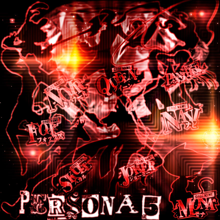 P5 Persona 5 by BaroqueWorks1