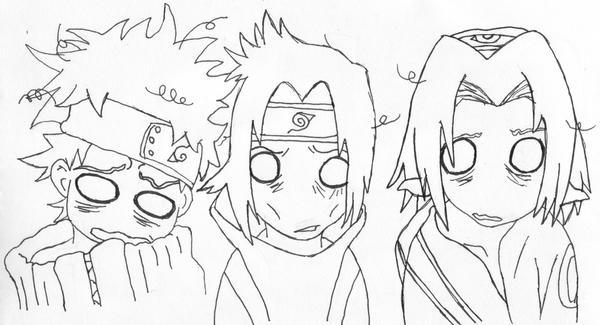 Naruto Sasuke and Sakura by Naruto179