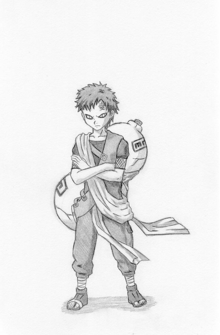 Gaara for Cricketpaw by Naruto179