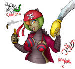 Pirate Kameko by Sin-King