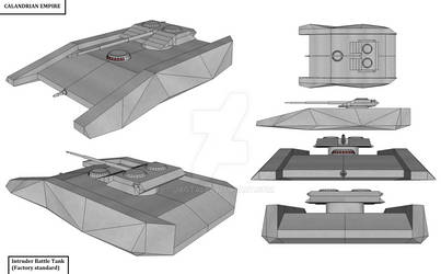 Intruder Battle Tank