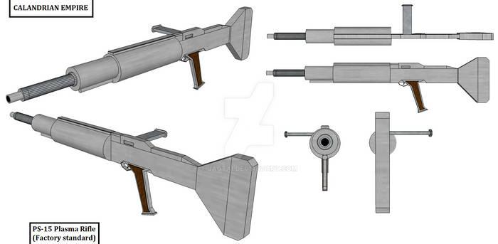 PS-15 Plasma Rifle