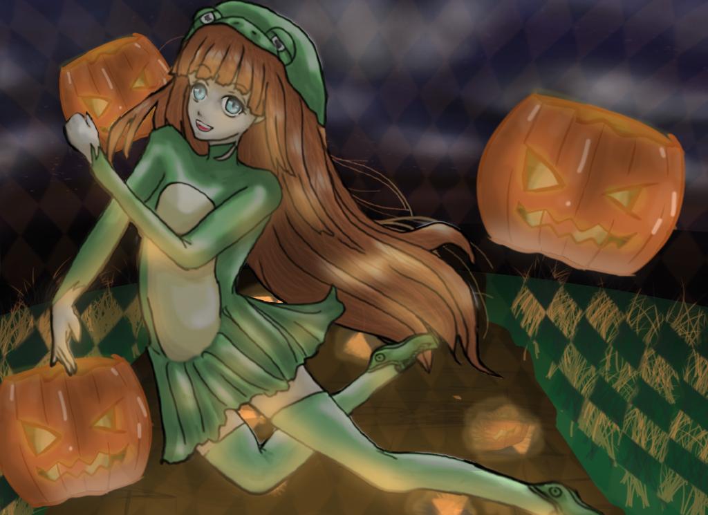 Alix Halloween Birthday Contest by ShAnimee
