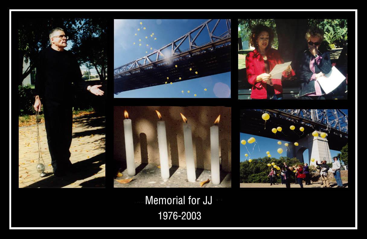 Memorial for JJ by misteriddles