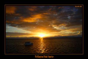 Wellington Point Sunrise by misteriddles