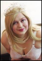 Ev as Barbie by misteriddles