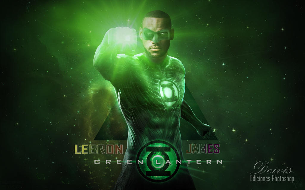 Green Lantern Lebron James by DeivisjimenezA on DeviantArt