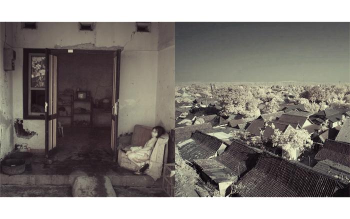 Alone and the horizon by Sankaracharya