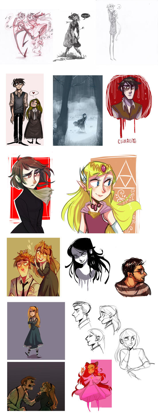 Art summary! by 9emiliecharlie9