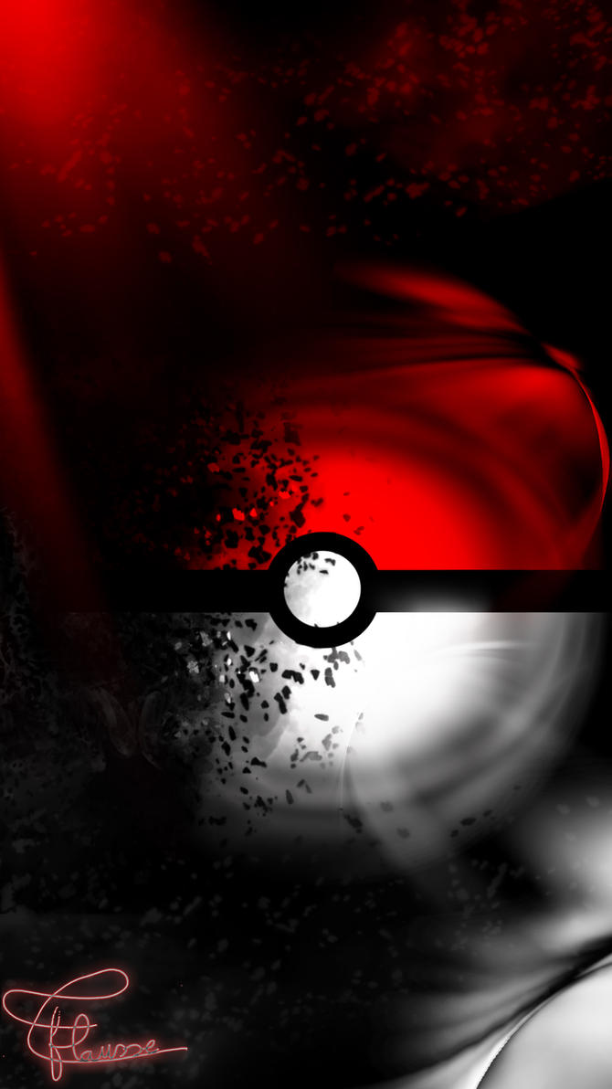 Fabuleux Fond d'ecran pokeball pour portable by theosaure10400 on DeviantArt TY83