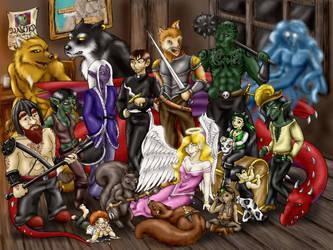Legion Of Heroes by garney