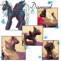 MLP Custom: Damael by garney