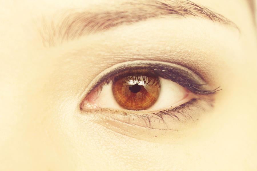 Brown Eyes Makeup Close Up | Vizitmir.com