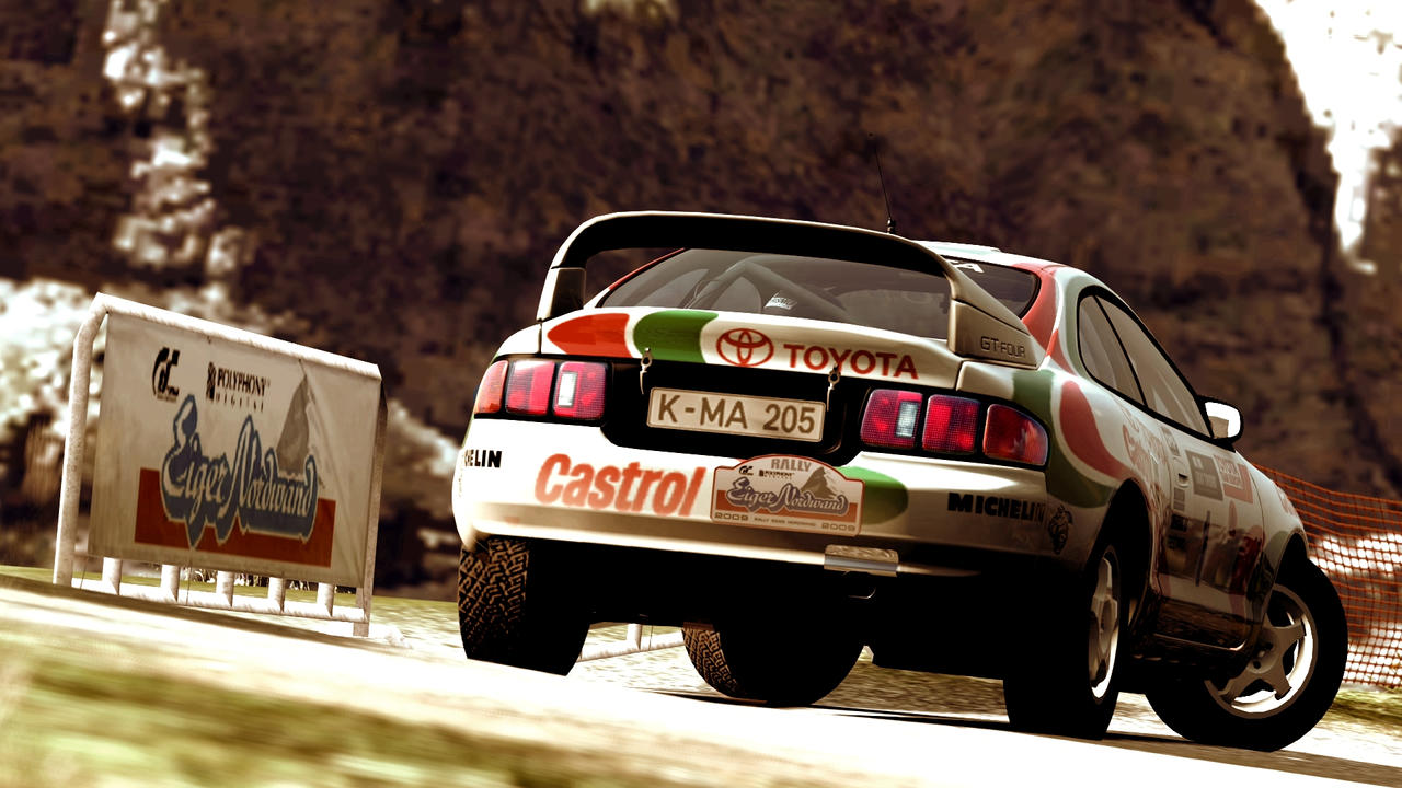 Toyota Celica GT Four St205 by Canis135 on DeviantArt