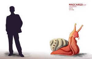 Pokepedia: #219 Magcargo by Hey-its-Josh