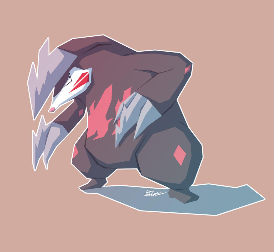 Excadrill by Hey-its-Josh