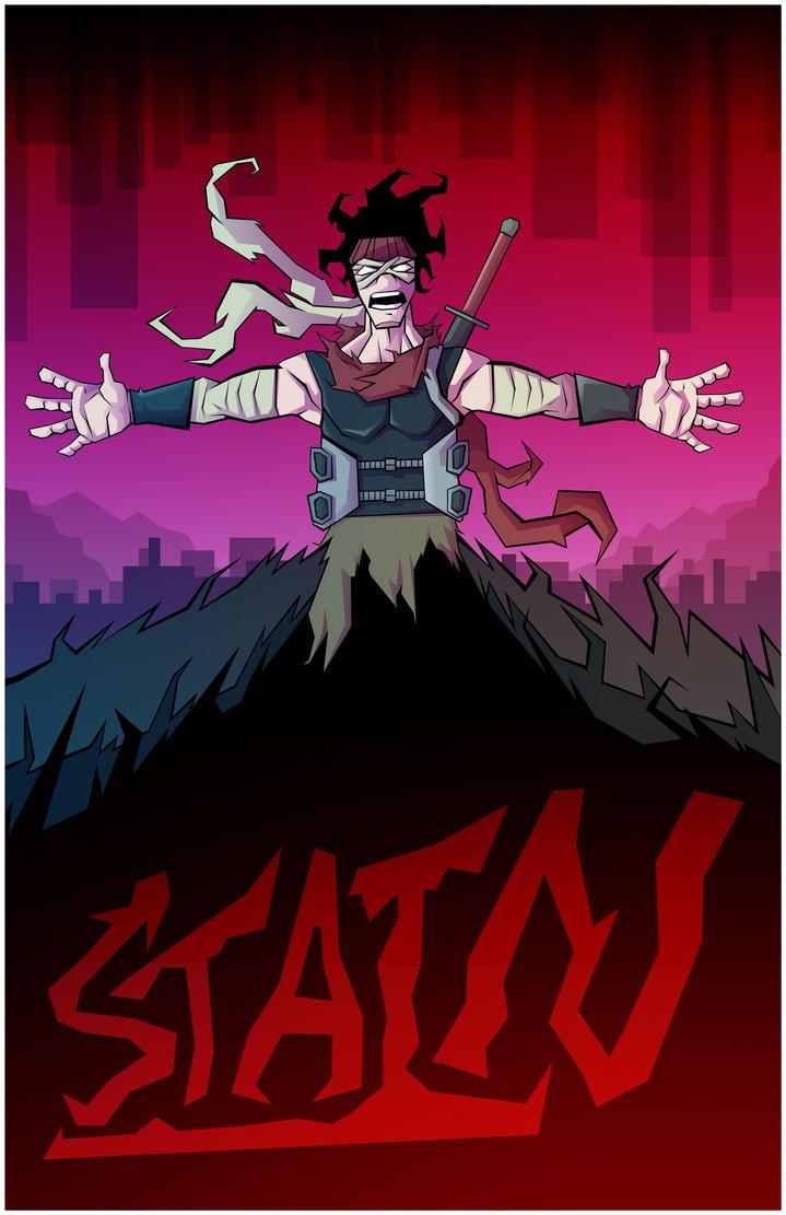 My Hero Academy: Stain, the Hero Killer by Hey-its-Josh