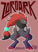 Zoroark by Hey-its-Josh