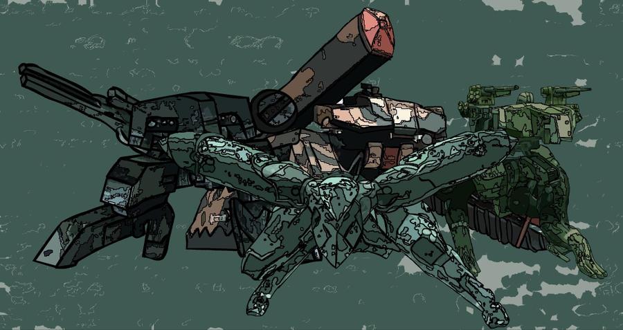 metal gears by shadow5talker04 on deviantart