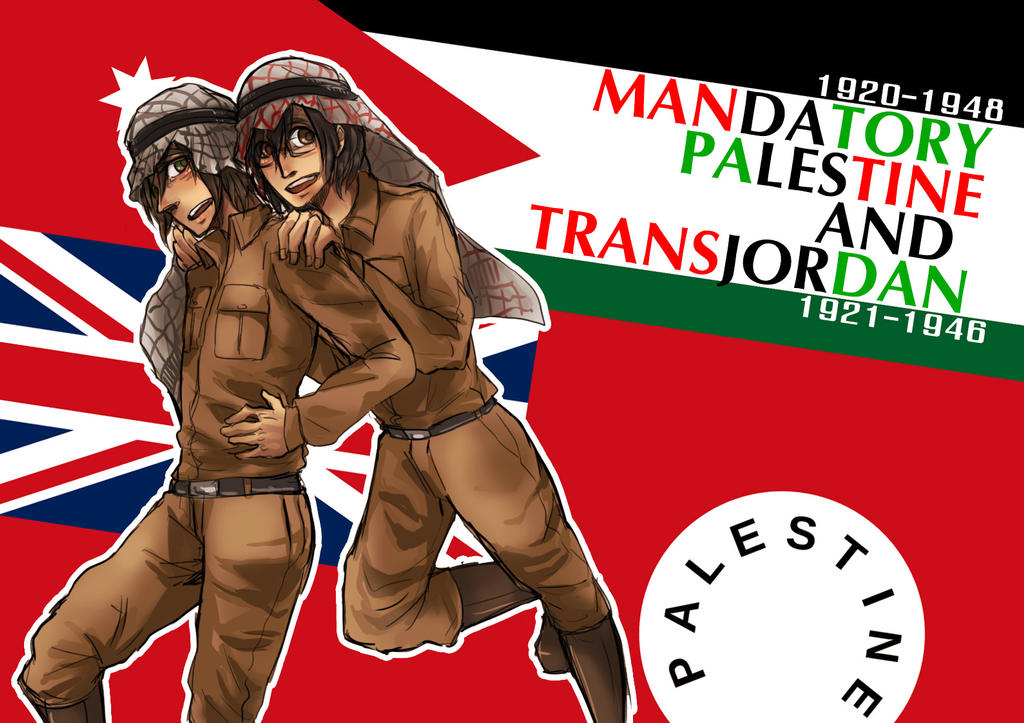 APH : British Mandate for Palestine by gemmingi