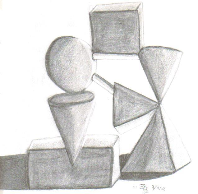 3d shapes   Etsy