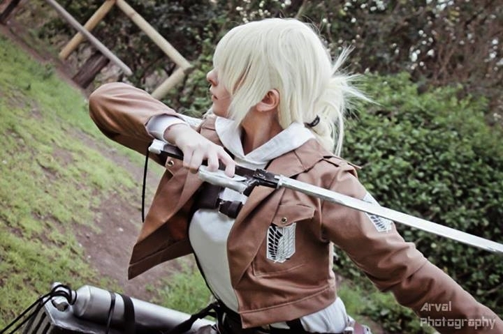 Attack on titan: Annie Leonhardt by YukoUzumaki