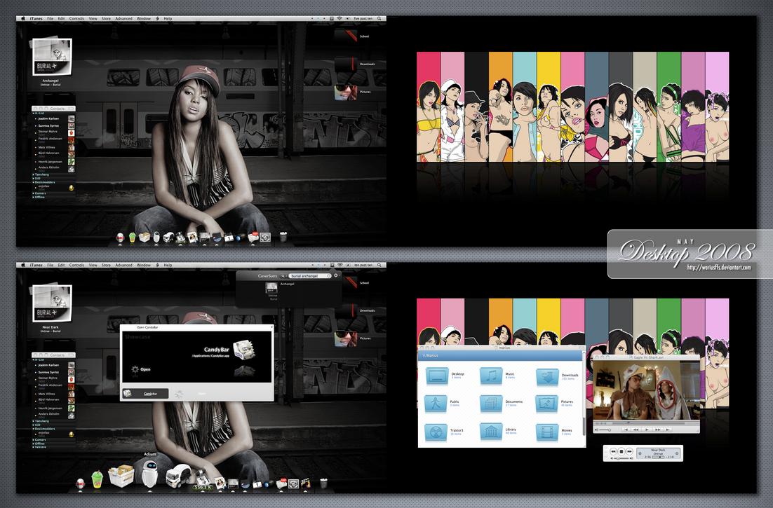 May 2008 Desktop by wariusffs