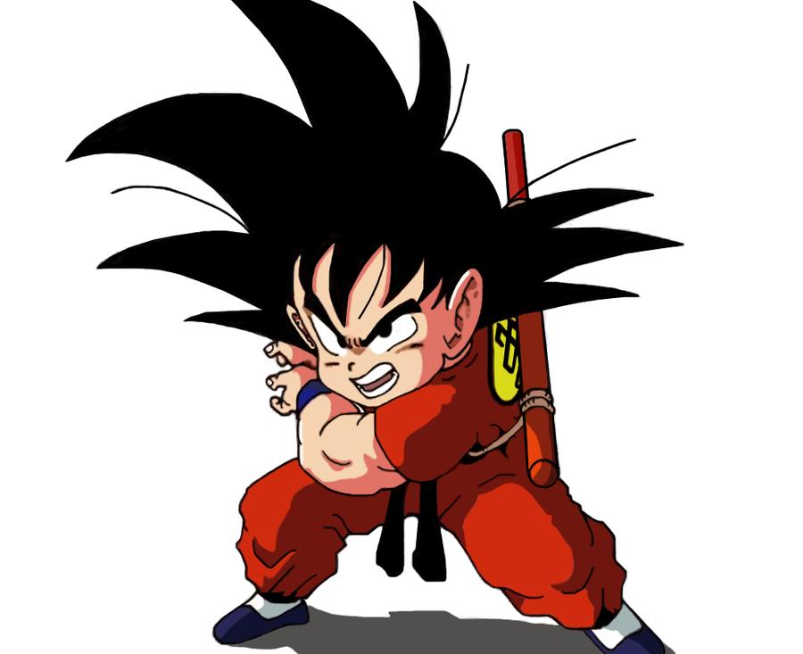 Kid Goku KAMEHAMEHA by S0N-GOKU