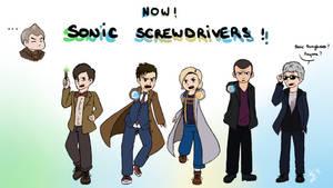 Sonic Screwdrivers