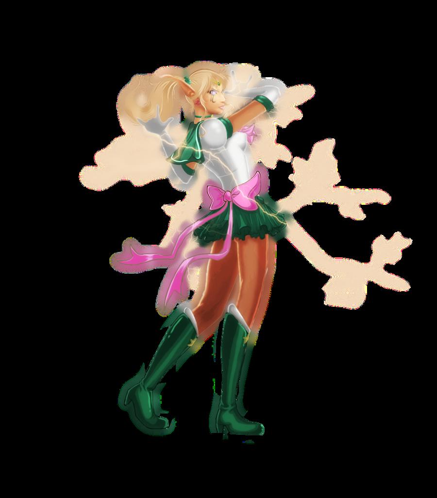 Pendulum as Sailor Jupiter by CopperPumpkin