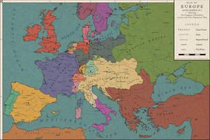 Europe 1813: The Congress of Frankfurt by Saluslibertatis