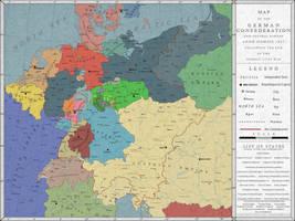 The German Confederation, 1867