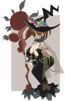 Beautiful Forest Witch Malia by yohawk