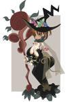 Beautiful Forest Witch Malia