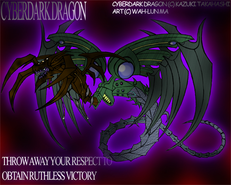 CyberDark Dragon Unleased by yohawk