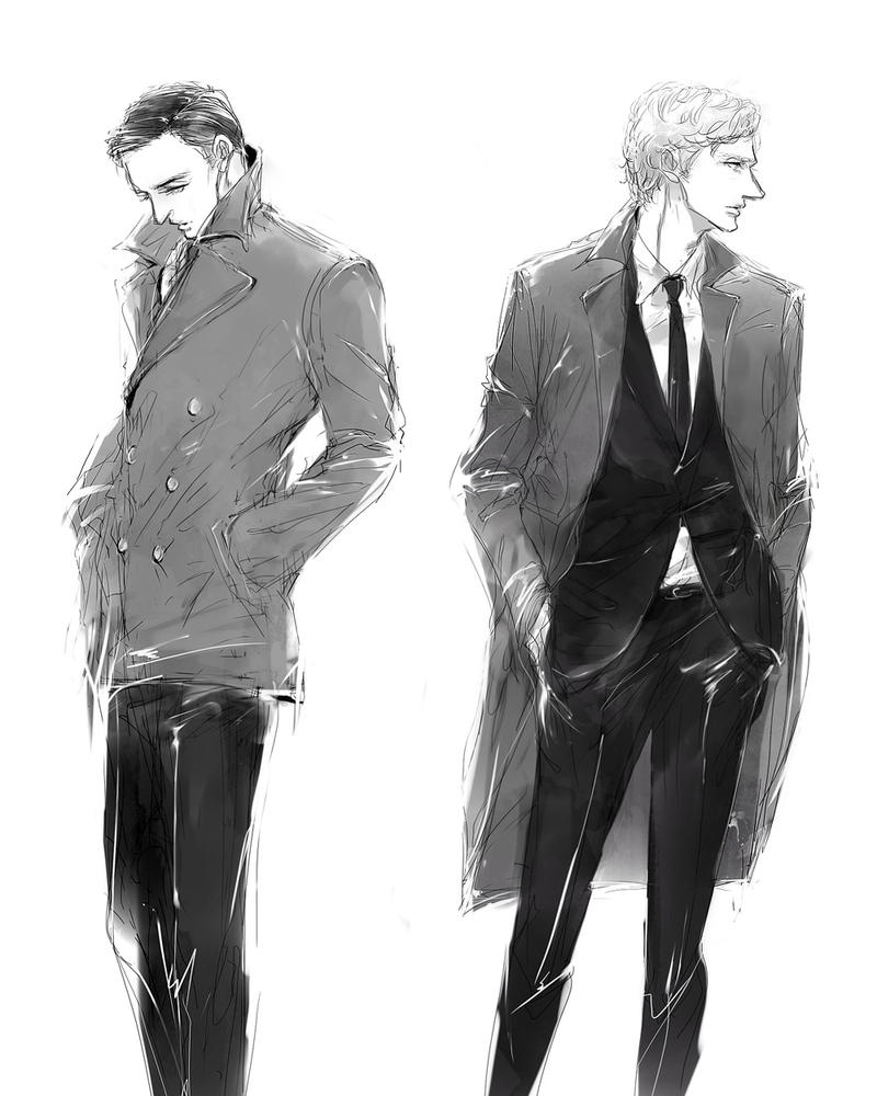 2 Detectives by m0bilis