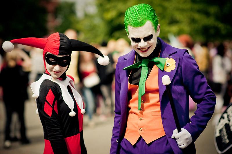 Joker n Harley Quinn cosplay 2 by Markus-MkIII