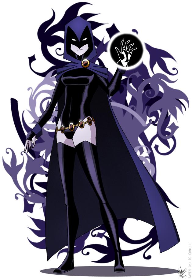 Casual Raven [Fanart version] by FaerieBlossom on DeviantArt
